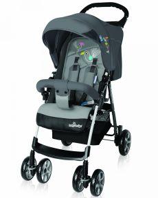 Коляска прогулочная BABY DESIGN MINI NEW цвет серый