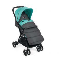 Прогулочная коляска Cam Curvi, цвет: серый+бирюзовый