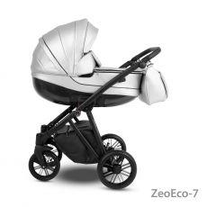 Коляска универсальная CAMARELO ZEO ECO 3 В 1 цвет серебристый 07 (экокожа)