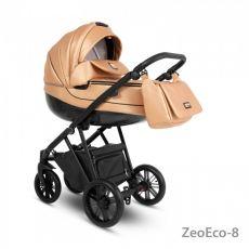 Коляска универсальная CAMARELO ZEO ECO 3 В 1 цвет золотой 08 (экокожа)