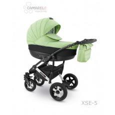Коляска универсальная CAMARELO SEVILLA NEW 3 В 1 цвет зеленый 05