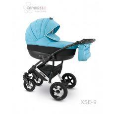 Коляска универсальная CAMARELO SEVILLA NEW 3 В 1 цвет голубой 09