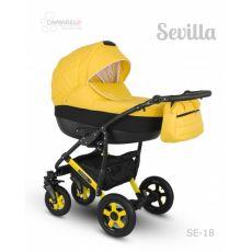 Коляска универсальная CAMARELO SEVILLA NEW 3 В 1 цвет желтый 18