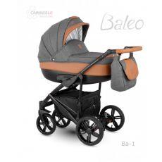 Коляска универсальная CAMARELO BALEO 3 В 1 цвет серый лен 01