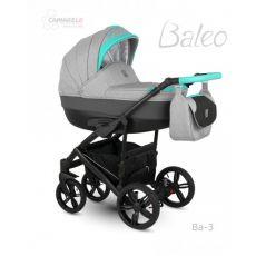 Коляска универсальная CAMARELO BALEO 3 В 1 цвет светло-серый лен 03