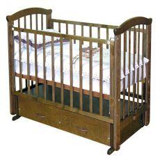 Детская кроватка Можга Ирина С-625 маятник поперечный с ящиком