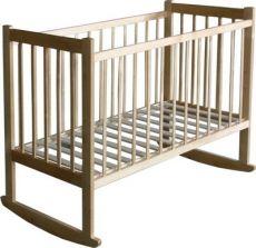 Кроватка Ника Стандарт колесо, качалка