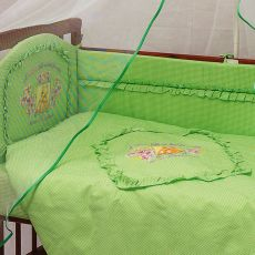 Комплект для детской кроватки из 7 предметов