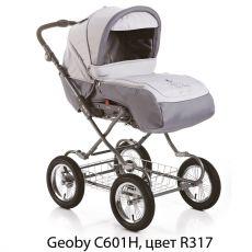 Коляска Geoby C601H (надувные колеса)