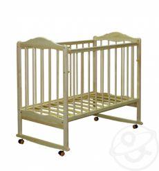 Детская кроватка качалка-колесо