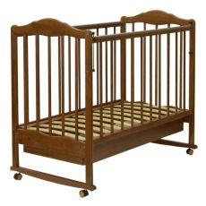 Кроватка детская качалка с колесом + ящик