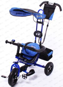 Велосипед 3- х кол. Stiony SUPER TRIKE AiR (надувные колеса) арт. 919-Т15